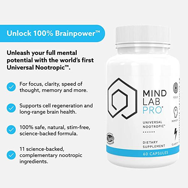 Alpha Brain alternative Mind Lab Pro