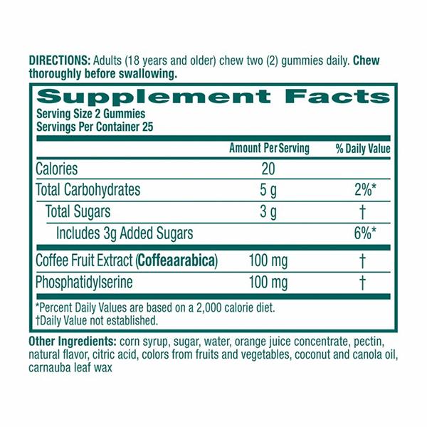 Neuriva ingredients list