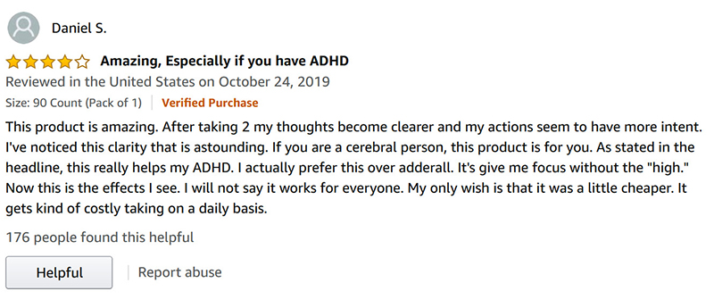 Positive Onnit Alpha Brain review
