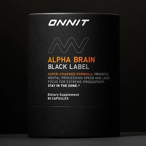 Alpha Brain Black Label side effects